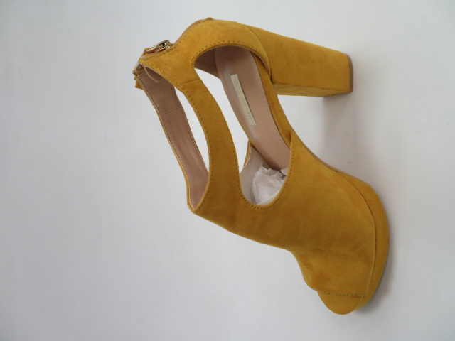Czółenka Damskie 19287, Yellow, 36-41