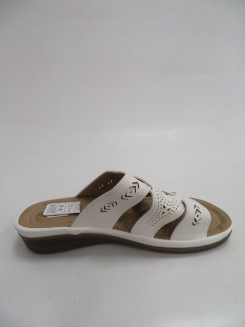 Klapki Damskie B0291-4, White, 37-42