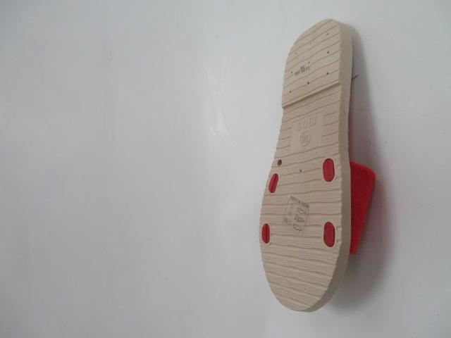 Klapki Damskie LL66-193, Red, 36-41