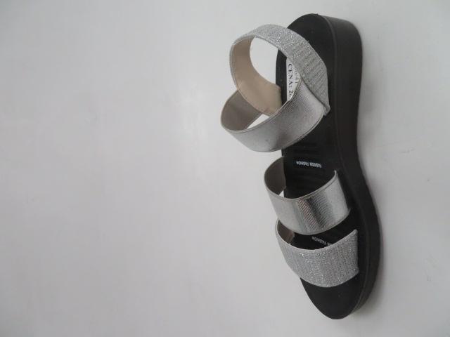 Sandały Damskie FY6811, Silver, 36-41