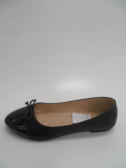 Baleriny Damskie W001, Black, 36-41