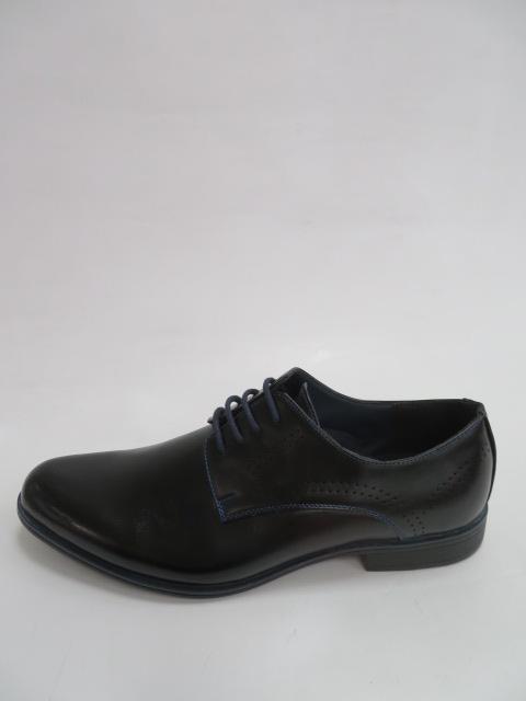 Półbuty Męskie MXC 457, Black/Blue , 40-45