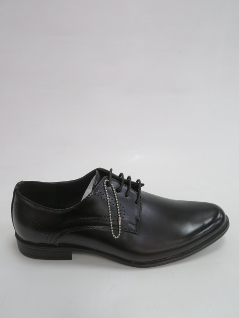 Półbuty Męskie MXC 457, Black/Black , 40-45