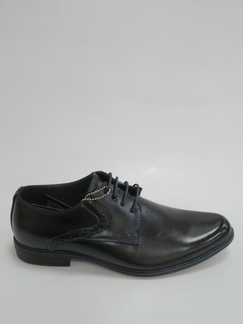 Półbuty Męskie  MXC 456, Black/Blue, 40-45