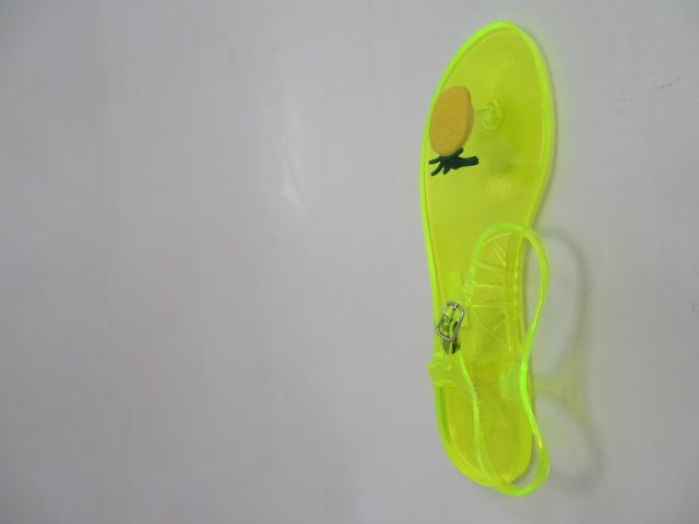 Sandały Damskie K-3700, Yellow , 36-41