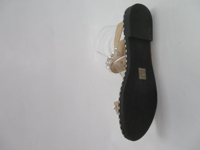 Sandały Damskie FR 183, Beige , 36-41
