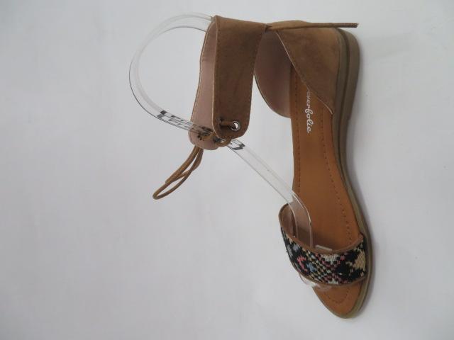 Sandały Damskie 910A, Camel , 36-41