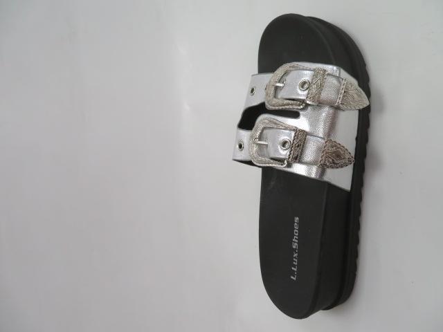 Klapki Damskie SYT-02, Silver, 36-41 1