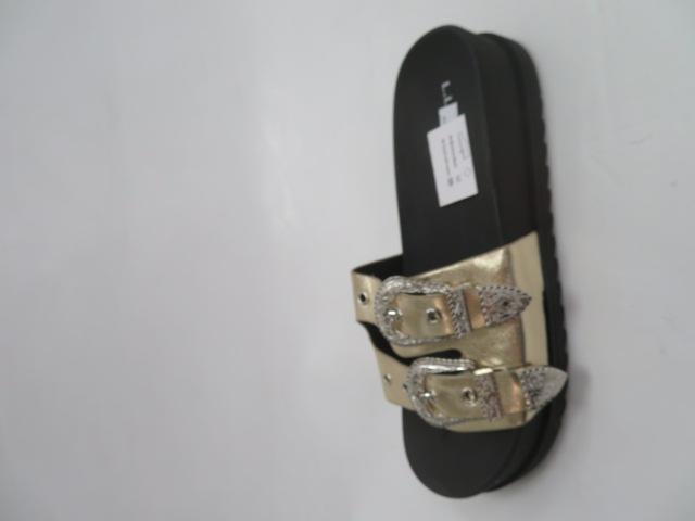 Klapki Damskie SYT-02, Gold, 36-41 1