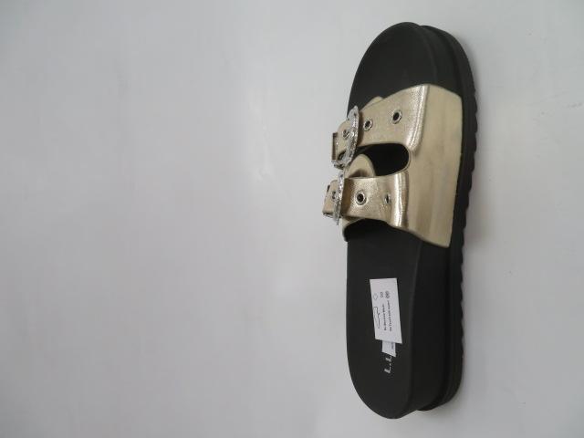 Klapki Damskie SYT-02, Gold, 36-41