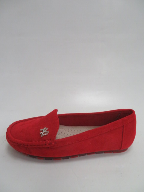 Baleriny Damskie GS13, Red,  36-41