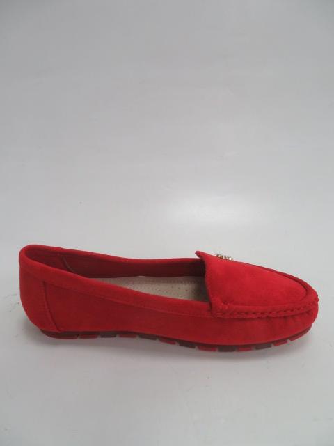Baleriny Damskie GS13, Red,  36-41