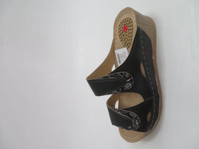 Sandały Damskie KS-9112,  Black, 36-41