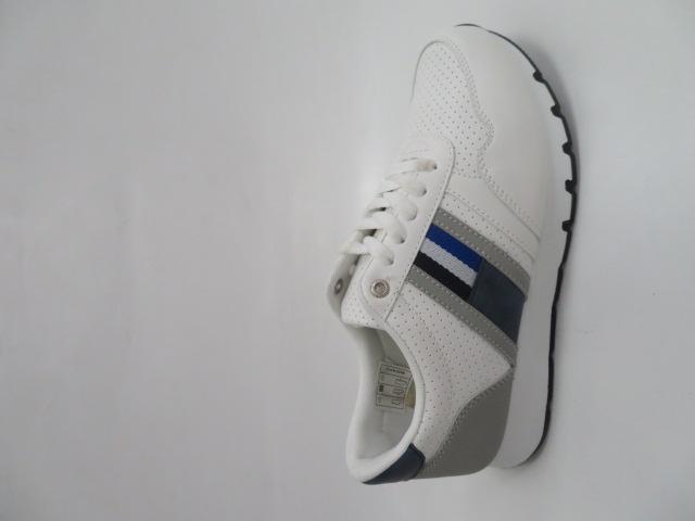 Buty Sportowe Męskie H2100C, White/Grey, 41-46
