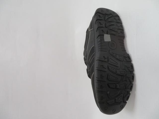 Buty Sportowe Męskie 701-11B, Black/Grey, 40-46 3