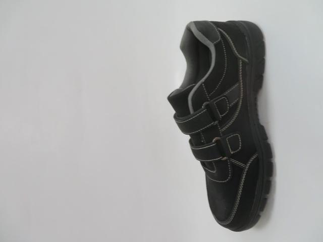 Buty Sportowe Męskie 703-31B, Black/Grey, 41-46 2