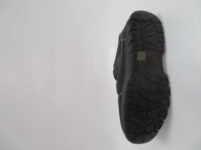 Buty Sportowe Męskie 703-31B, Black/Grey, 41-46 3