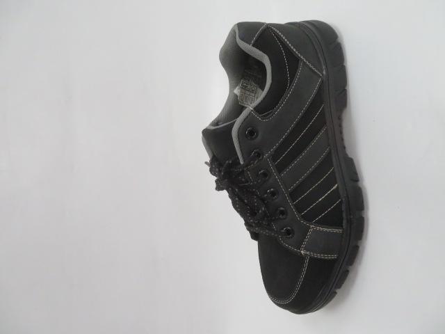 Buty Sportowe Męskie 702-21, Grey/Black, 40-46