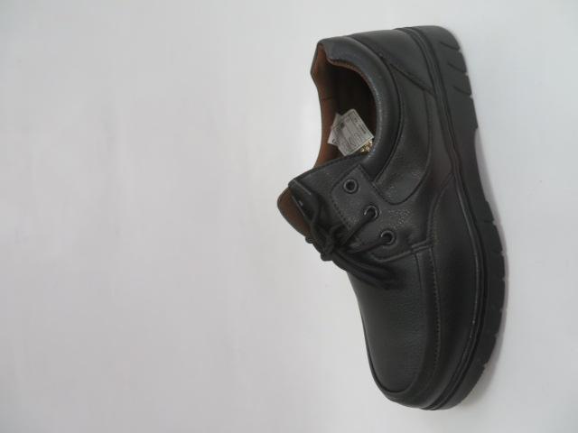 Półbuty Męskie 9C16, Black, 40-46