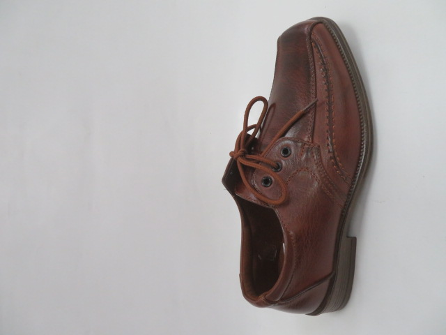 Półbuty Męskie JD09-2, Brown, 40-46