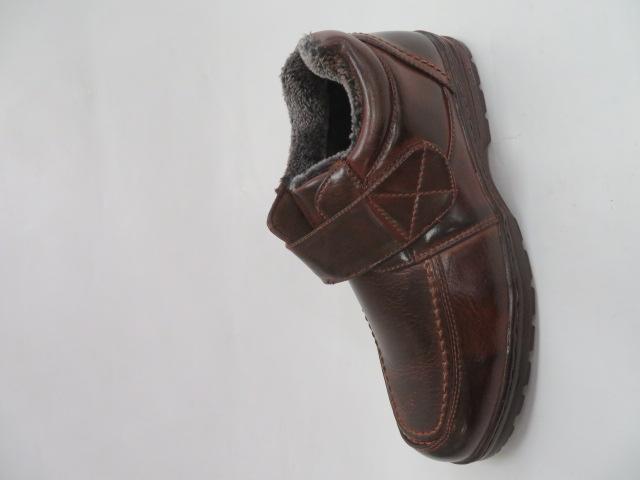 Półbuty Męskie M906-2, Brown, 41-46