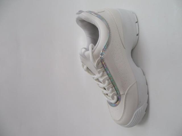 Sportowe Damskie A620, White/Silver 36-41 2