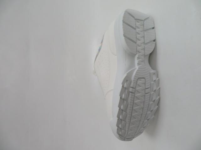 Sportowe Damskie A620, White/Silver 36-41 3