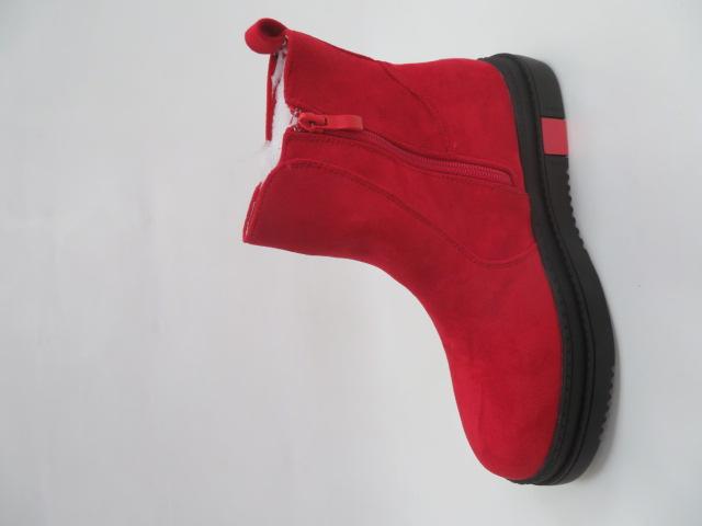 Botki Damskie GF-WL-50, Red, 36-41 2