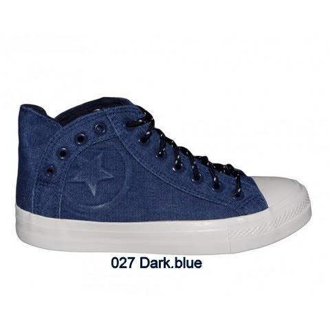 Trampki Damskie 027  DARK BLUE 36-41