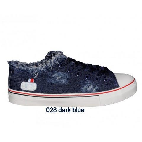 Trampki Damskie 028 DARK BLUE 36-41