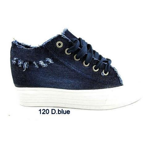 Trampki Damskie 120D DARK BLUE 36-41