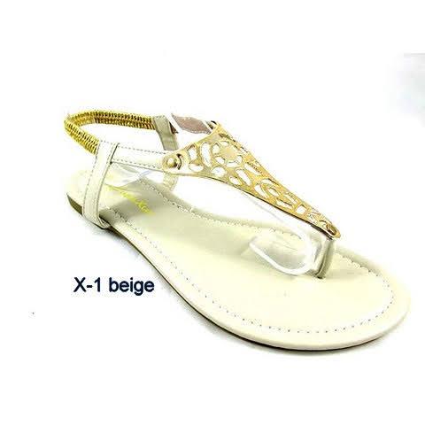 Sandały Damskie X-1 BEIGE 36-41