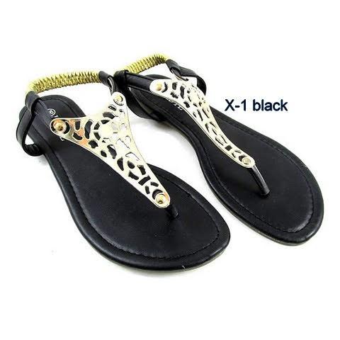 Sandały Damskie X-1 BLACK 36-41