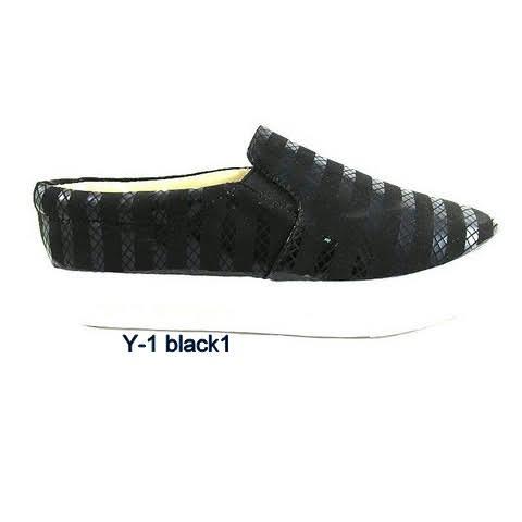 Trampki Damskie Y-1  BLACK 36-41