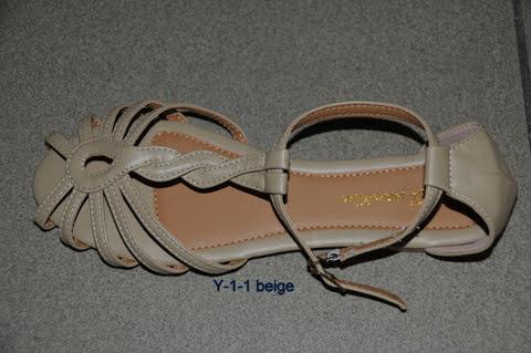 Sandały Damskie Y-1 BEIGE 36-41