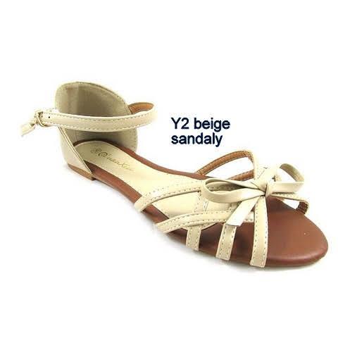 Sandały Damskie Y2 BEIGE  36-41