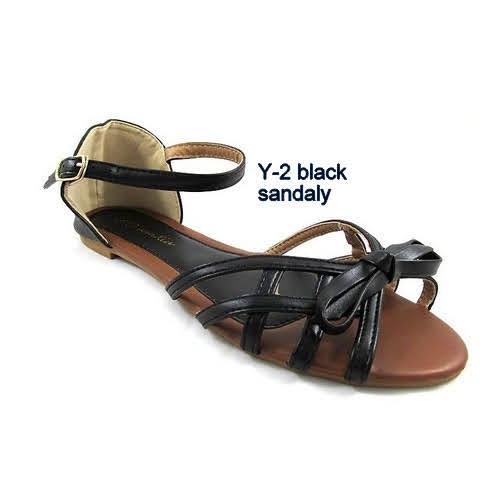 Sandały Damskie Y-2 BLACK 36-41