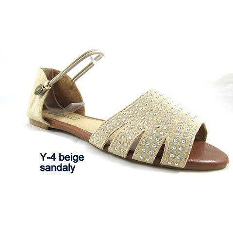 Sandały Damskie Y-4 BEIGE 36-41