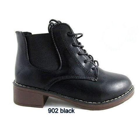 Botki Damskie 902 BLACK 36-41