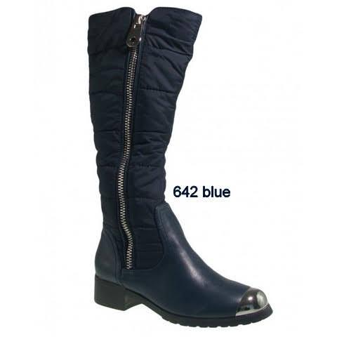 Kozaki Damskie 642 BLUE 36-41