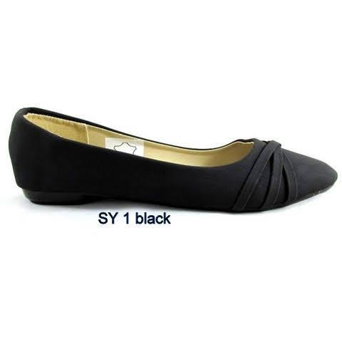 Baleriny Damskie SY-1 Black, 36-41